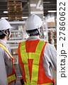 工事 倉庫 建設 工場 建築 打ち合わせ 会議 ミーティング 現場監督 ビジネス 工事現場 27860622