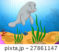 Cartoon funny manatee 27861147