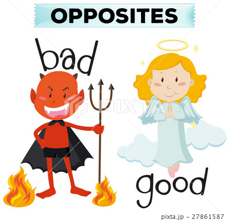 Opposite words with bad and good 27861587
