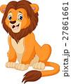 マンガ 漫画 ライオンのイラスト 27861661