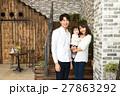 3人家族、赤ちゃん、マイホーム 27863292