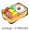 筆描き お弁当 27864391