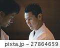 男性 格闘家 道着の写真 27864659