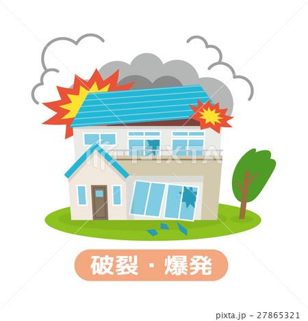破裂・爆発【災害・シリーズ】 27865321