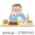 暴食 男性 食事 27865443