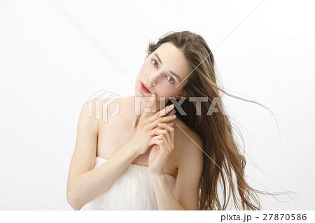 ビューティー イメージショット 外国人女性 27870586