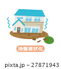 地盤液状化【災害・シリーズ】 27871943