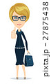 attractive young woman in elegant office clothes 27875438