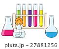 実験 化学 試験管のイラスト 27881256