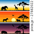 Set of three animals banner 27882022