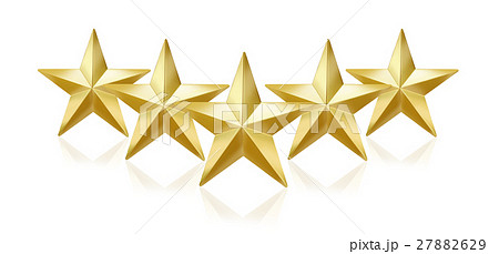 5つ星のイラスト素材 [27882629] - PIXTA
