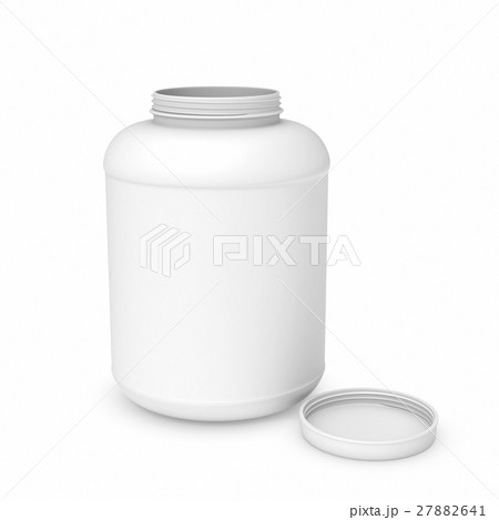 Rendering of white blank round canのイラスト素材 [27882641] - PIXTA