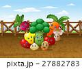 野菜 土地 土壌のイラスト 27882783