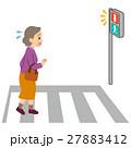 ロコモ 横断歩道お渡る 高齢者 27883412