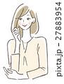 ポーズ 女性 27883954