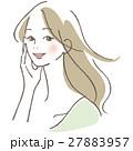ベクター ビューティー 女性のイラスト 27883957