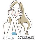 ベクター ビューティー 女性のイラスト 27883983