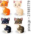 Cartoon cute cat collection 27885779
