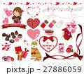 バレンタイン バリエーション ベクターのイラスト 27886059