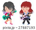 ロック ガールズバンド ベース ギター 27887193