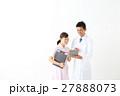 医者 看護師 タブレットの写真 27888073