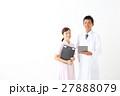 医者 看護師 タブレットの写真 27888079