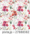 Watercolor vector floral pattern 27888382