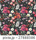 Watercolor vector floral pattern 27888386