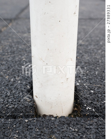 Pole in flexible tile for playground from rubber の写真素材 [27889331] - PIXTA