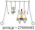 ぶらんこ遊び 27889483