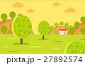 ガーデン 農場 村のイラスト 27892574