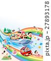 ファミリー旅行、家族旅行、家族で海水浴 27893178