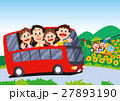 家族旅行、バス旅行、バス家族旅行 27893190