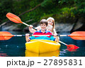 カヤック 家族 川の写真 27895831