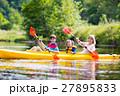 カヤック 家族 川の写真 27895833