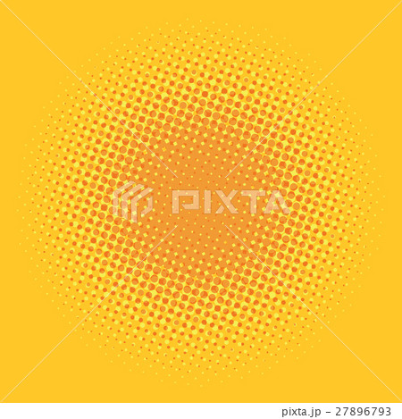 Orange pop art comic background 27896793