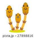 つくし 土筆 親子のイラスト 27898816
