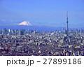 富士山と東京スカイツリー 27899186