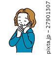 電話で話すおばさま 27901307