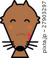 おおかみ 笑顔 動物 キャラクター向け 27903297