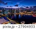 シンガポール・マリーナベイの夜景 27904933