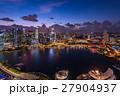 シンガポール・マリーナベイの夜景 27904937