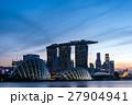シンガポール・マリーナベイの夜景 27904941