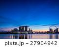 シンガポール・マリーナベイの夜景 27904942