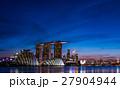 シンガポール・マリーナベイの夜景 27904944