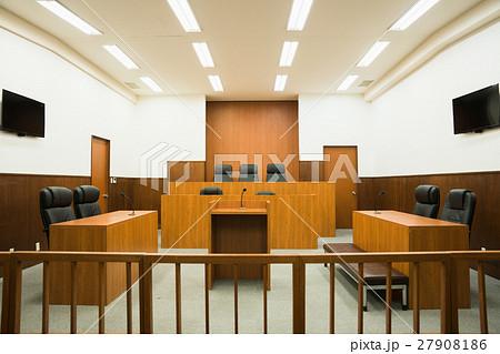 法廷の写真素材 [27908186] - PI...