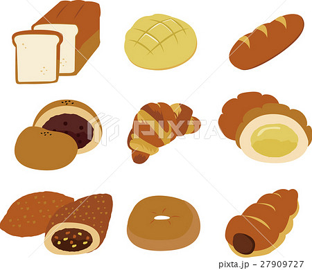 パンのイラストセット 27909727