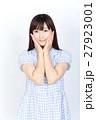 若い女性 美髪 ポートレート 27923001