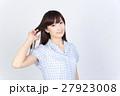 若い女性 美髪 ポートレート 27923008