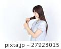若い女性 美髪 ポートレート 27923015